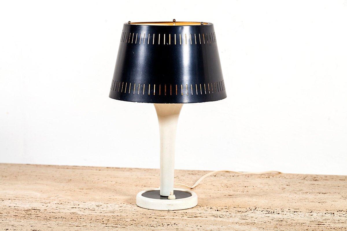Vintage Tischlampe aus Metall von Philips