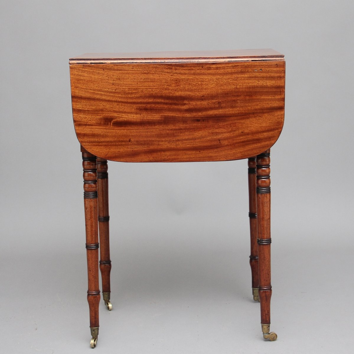Antique Mahogany Drop Leaf Table 1840 For Sale At Pamono