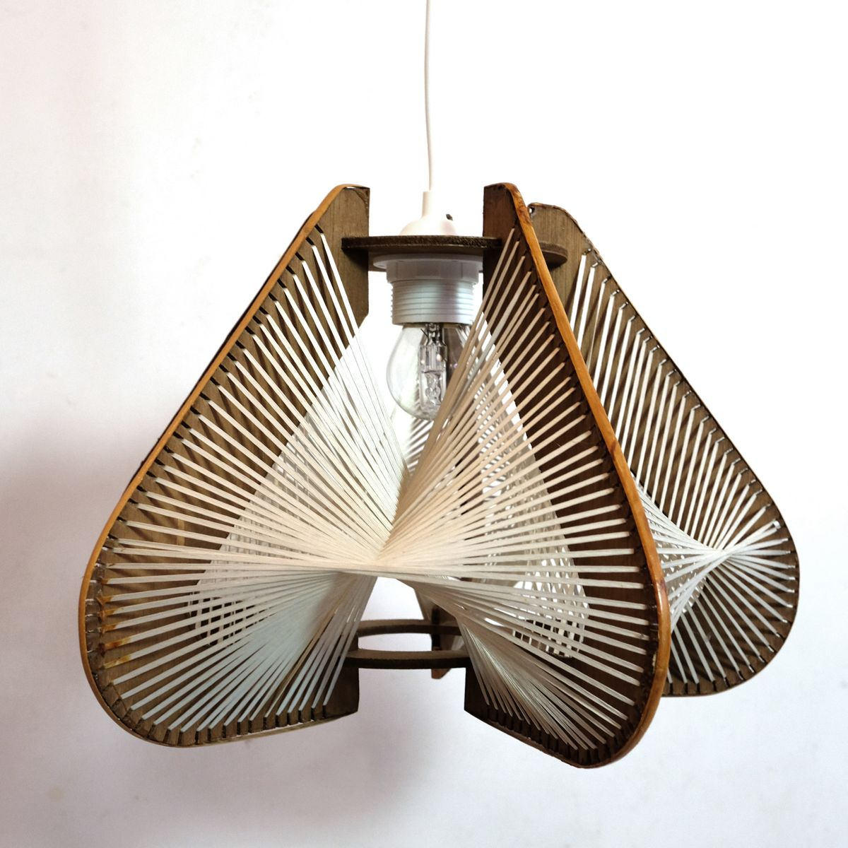 Mid-Century Deckenlampen, 1960er, 2er Set