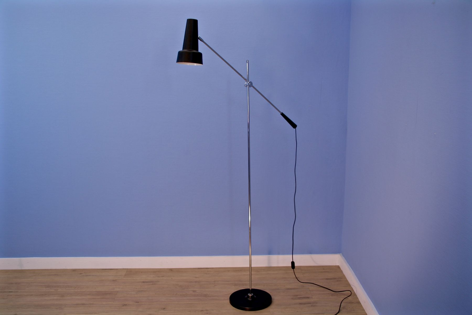 mid century stehlampe von willem hagoort f r hagoort 1960er salon lima. Black Bedroom Furniture Sets. Home Design Ideas