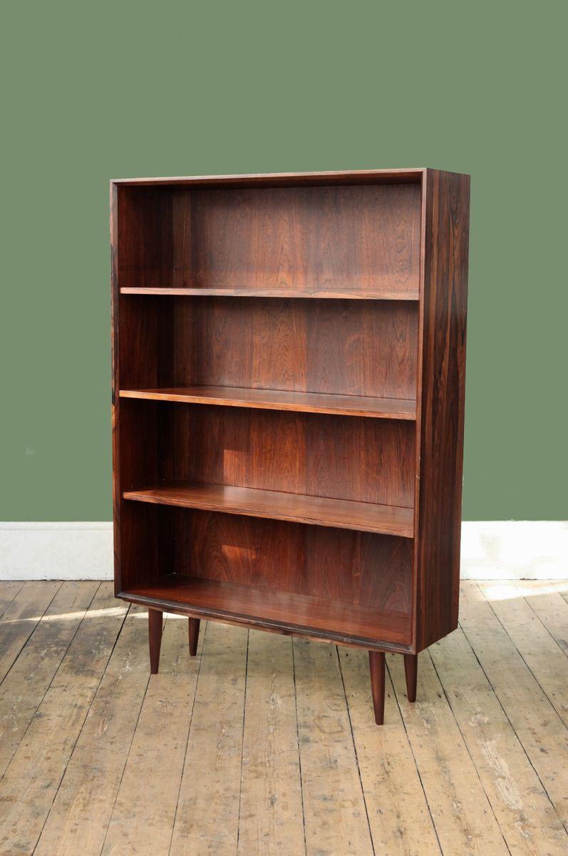 Large Mid Century Danish Rosewood Bookcase