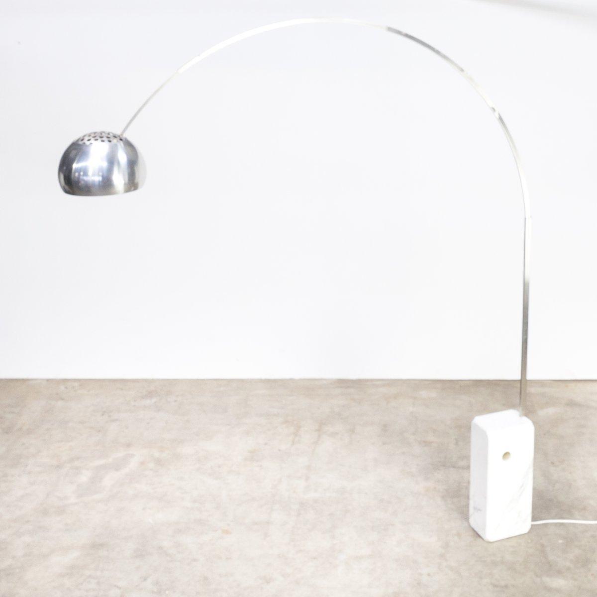 Lampada Da Terra Ad Arco Di Achille Castiglioni Per Flos Anni 60 In Vendita Su Pamono