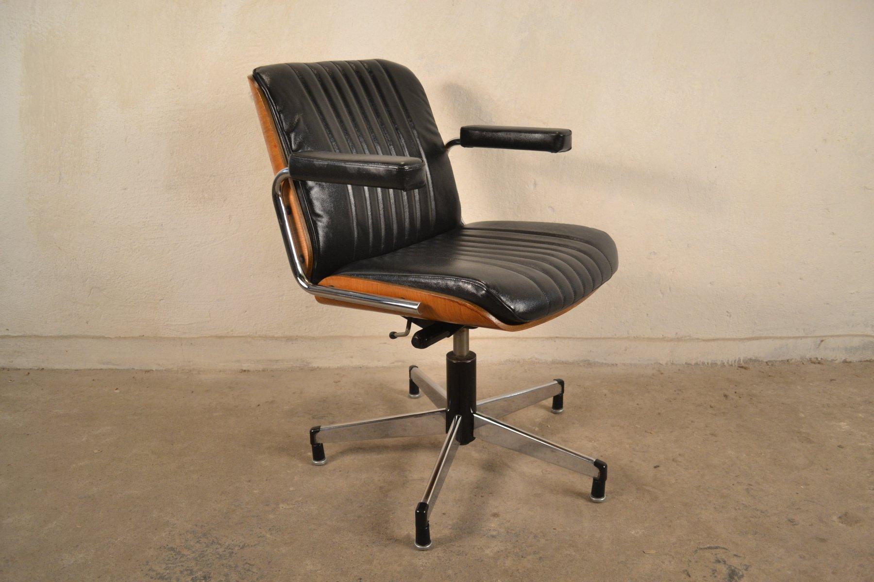 Chaise pivotante mod le 7125 de stoll giroflex 1960s en Modele de chaise
