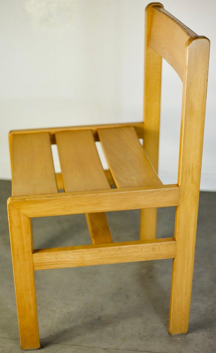 chaise d 39 appoint vintage en bois par andr sornay 1960s en vente sur pamono. Black Bedroom Furniture Sets. Home Design Ideas