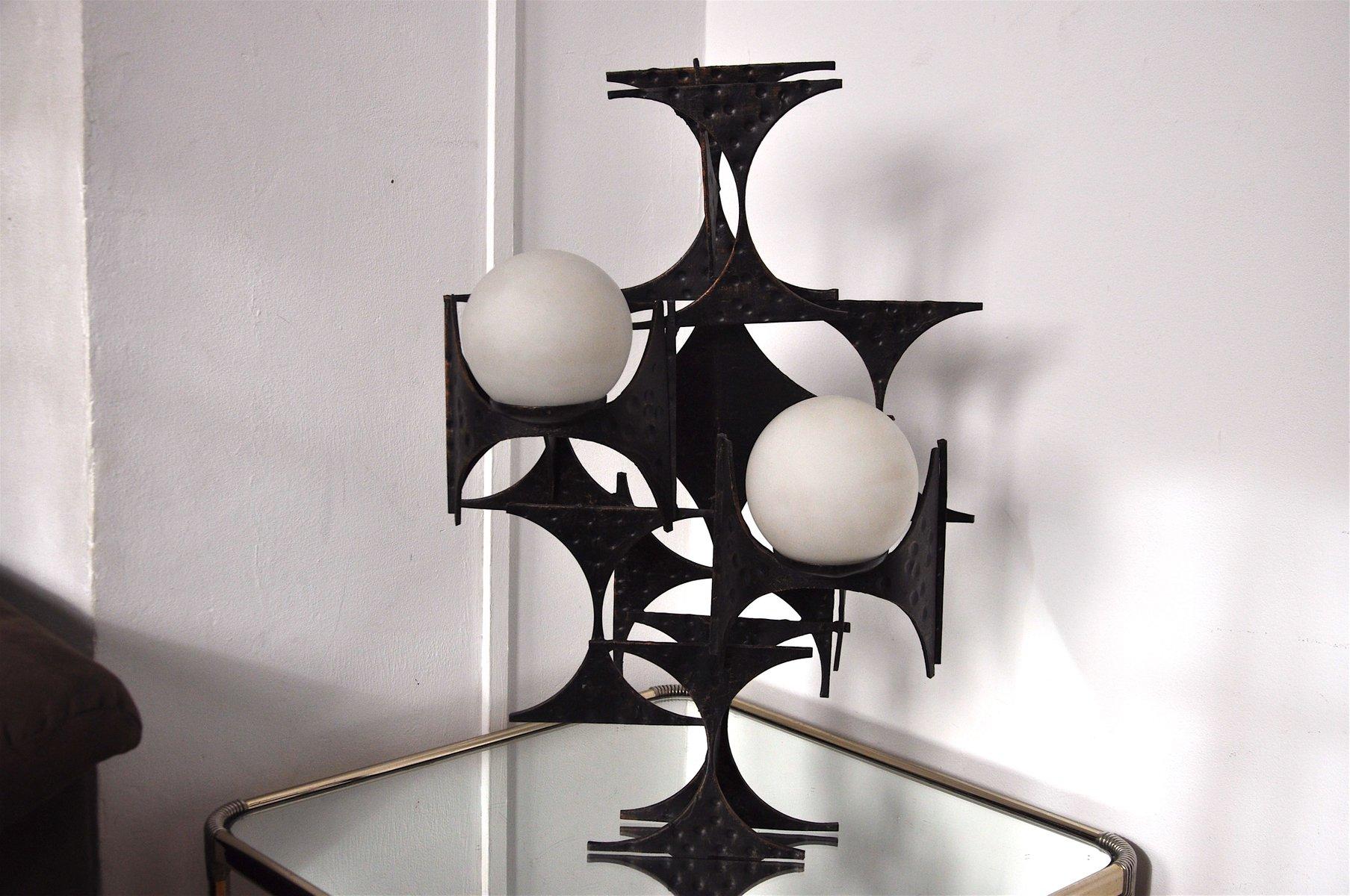 Brutalistische Wandlampe von Marc Weinstein, 1960er