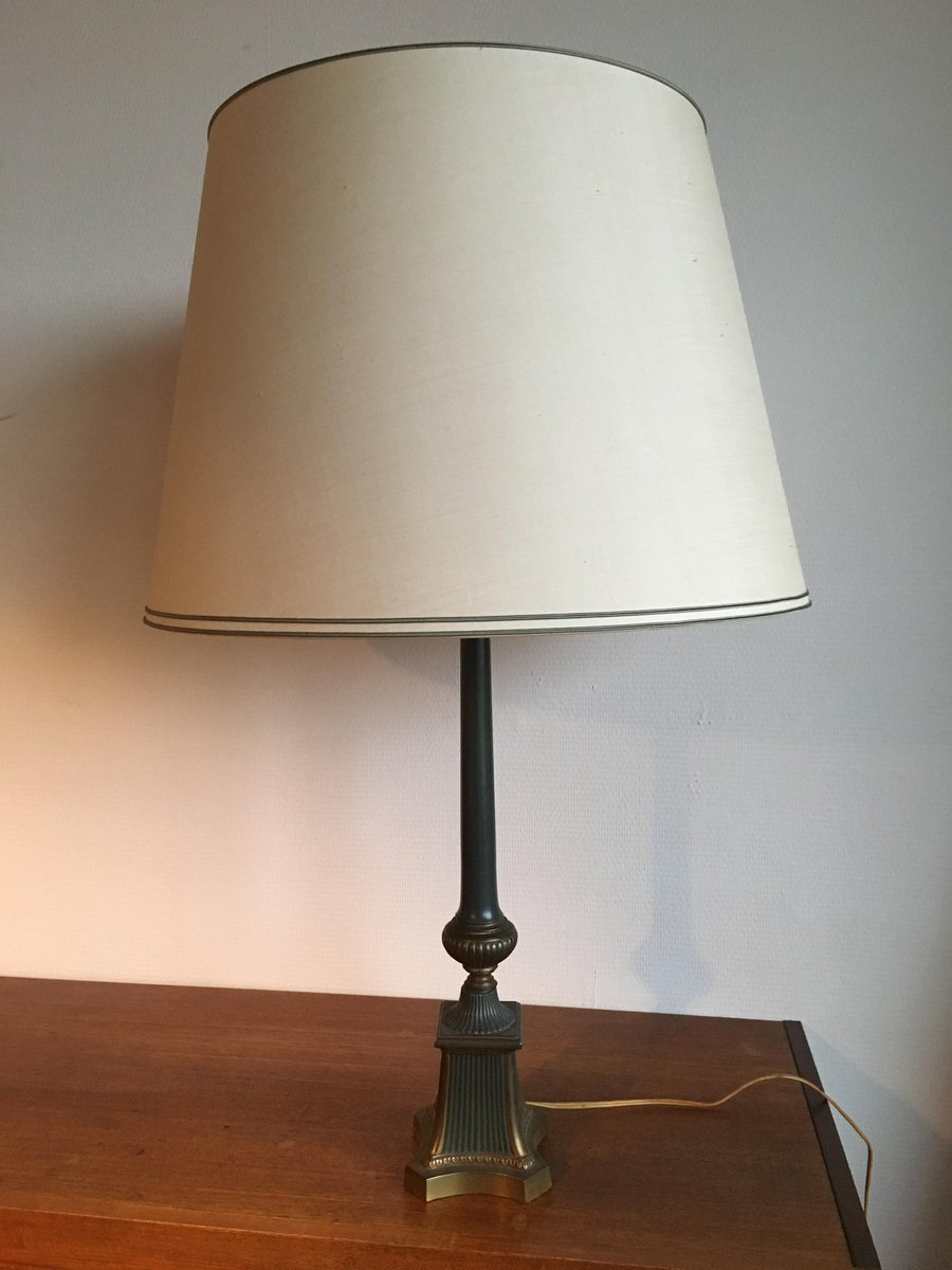 Vintage Brass Table Lamp, 1960s