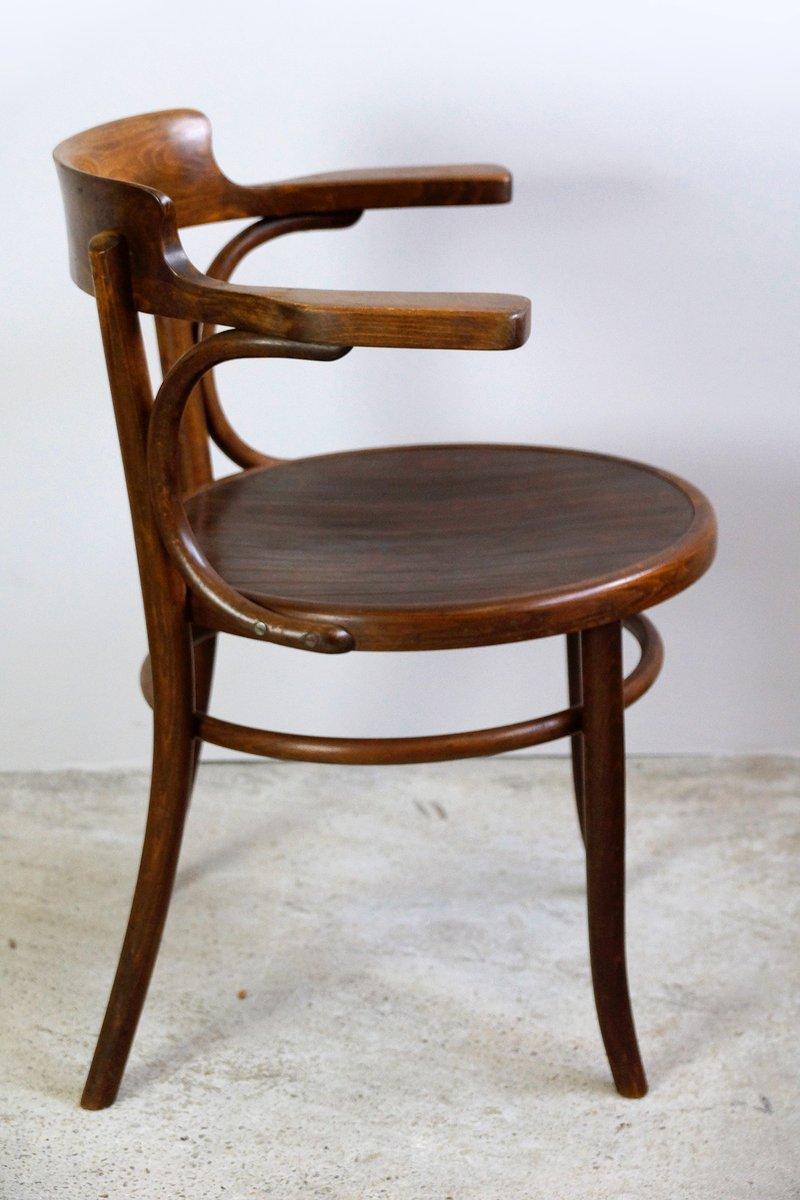Chaise de bureau antique en bois courb de fischel en vente sur pamono - Chaise de bureau antique ...