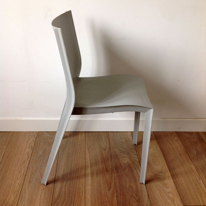 chaise slick slick vintage par philippe starck pour xo. Black Bedroom Furniture Sets. Home Design Ideas