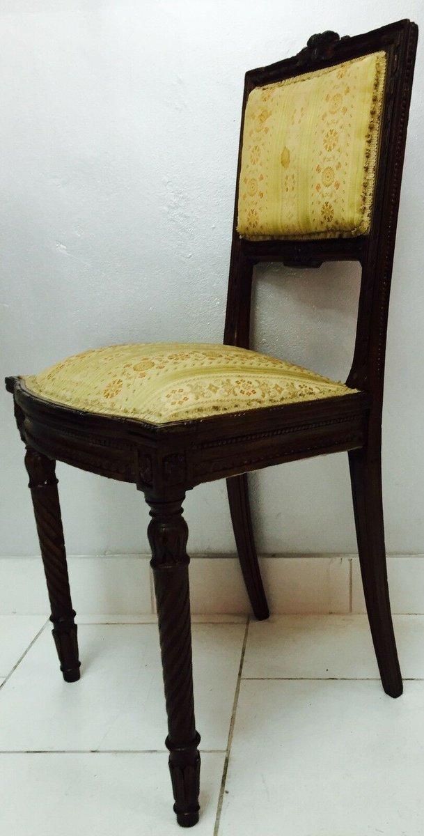 petite chaise antique en bois 1900s en vente sur pamono. Black Bedroom Furniture Sets. Home Design Ideas
