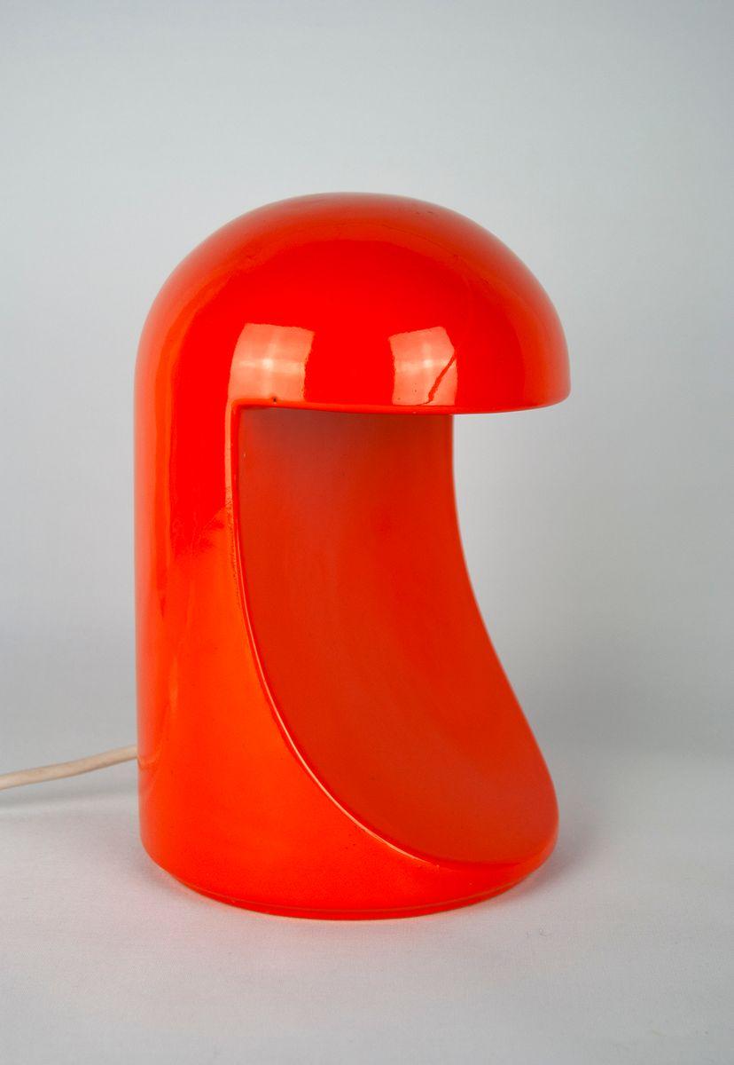 Longobarda Ceramic Table Lamp by Marcello Cuneo for Gabbianelli, 1966