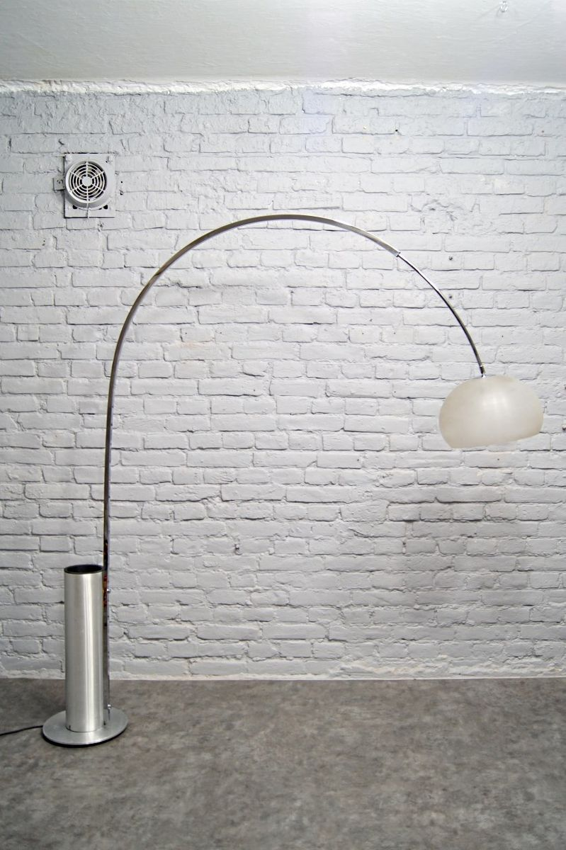 Large Arc Floor Lamp from Omi, 1970s