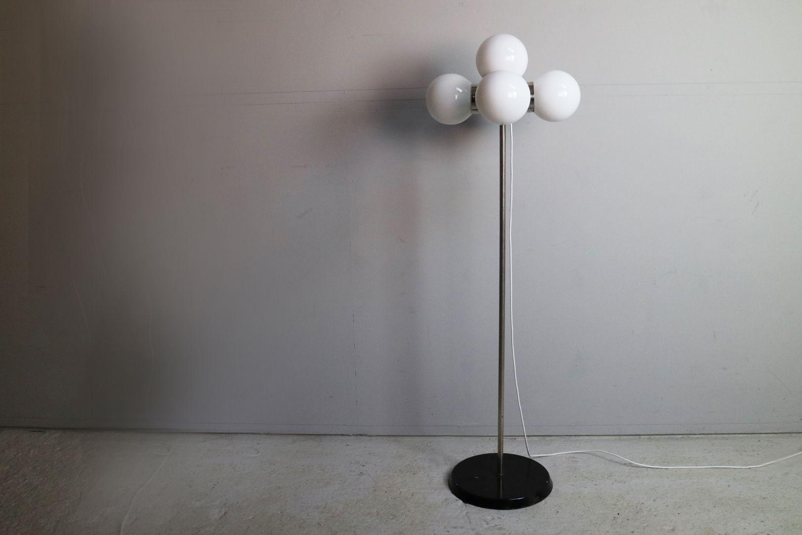 Mid-Century German 5 Globe Floor Lamp, 1970s