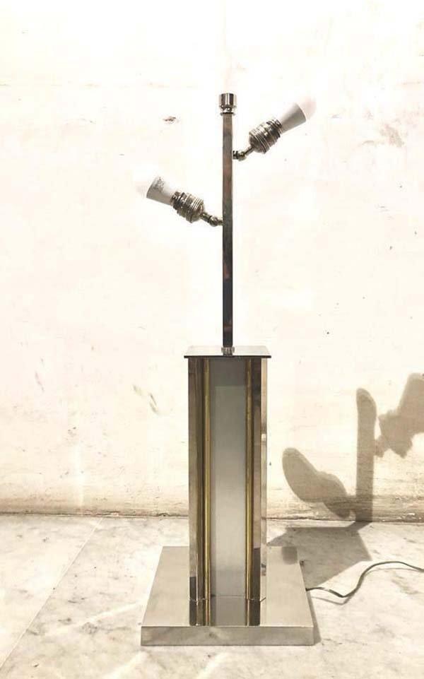 Mid-Century Italian Floor Lamp by Romeo Rega, 1970s