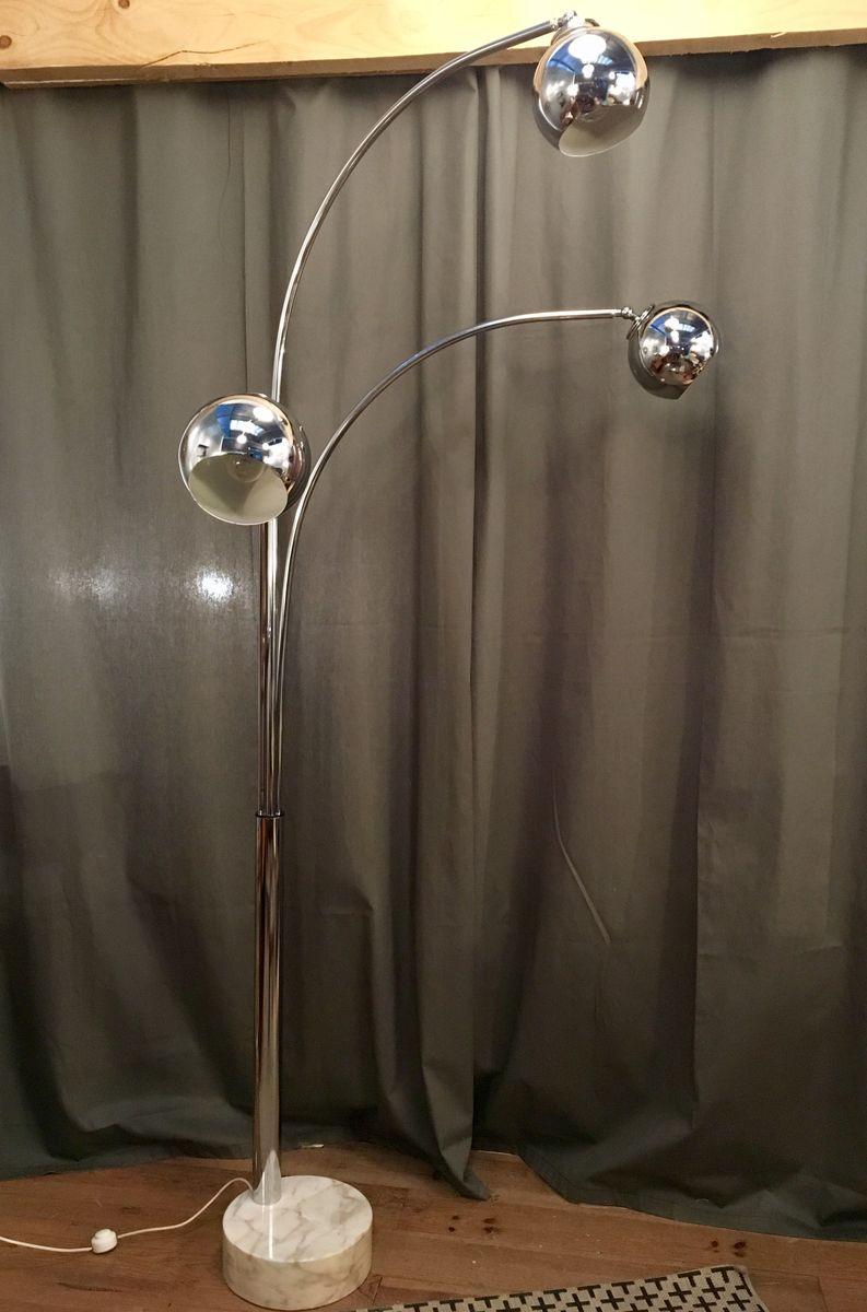 Italian Floor Lamp by Goffredo Reggiani, 1970s