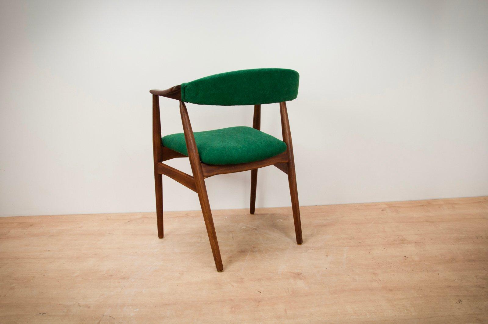 chaise d 39 appoint vintage en teck par th harlev pour farstrup m bler 1960s en vente sur pamono. Black Bedroom Furniture Sets. Home Design Ideas