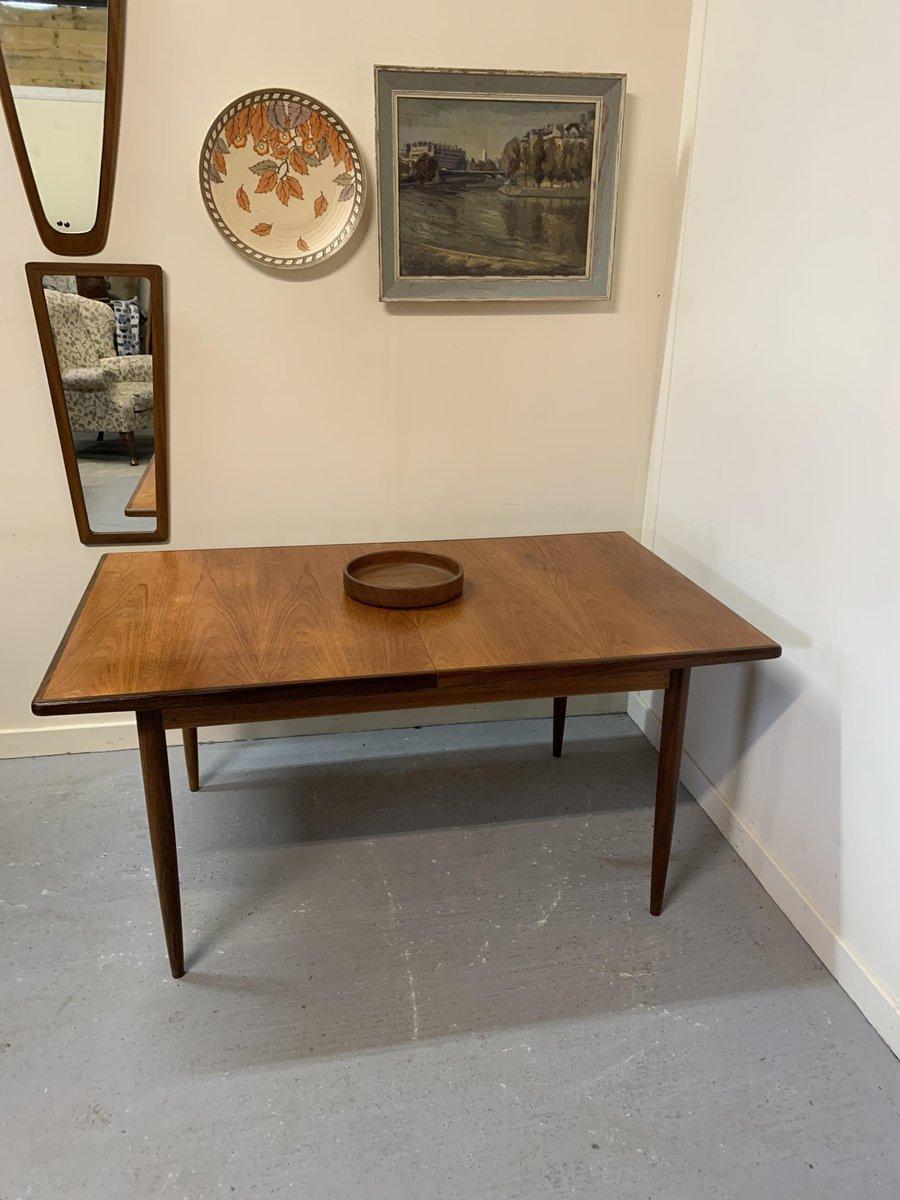 table de salle manger extensible mid century par victor. Black Bedroom Furniture Sets. Home Design Ideas