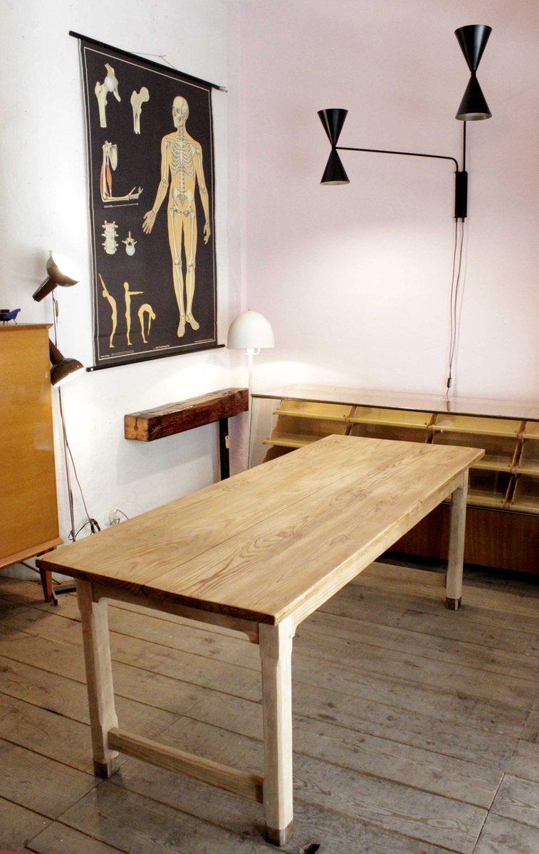 table de salle manger vintage en pin 1940s en vente sur. Black Bedroom Furniture Sets. Home Design Ideas