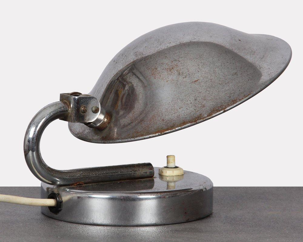 Kleine tschechische Vintage Tischlampe von Napako, 1940er
