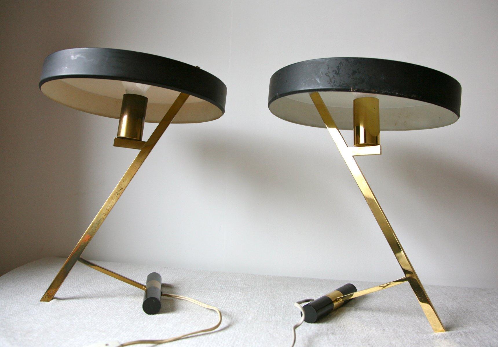 Z Schreibtischlampe von Louis Kalff für Philips House, 1950er