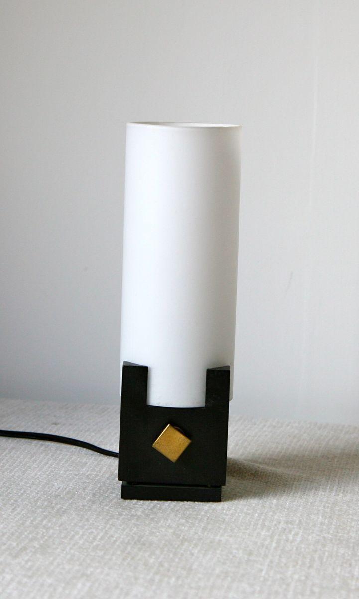Kleine Mid-Century Tischlampe von Arlus