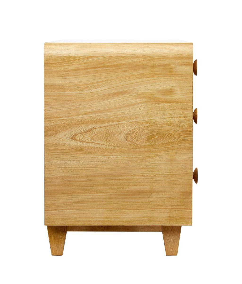 mid century kommode aus ulmenholz bei pamono kaufen. Black Bedroom Furniture Sets. Home Design Ideas