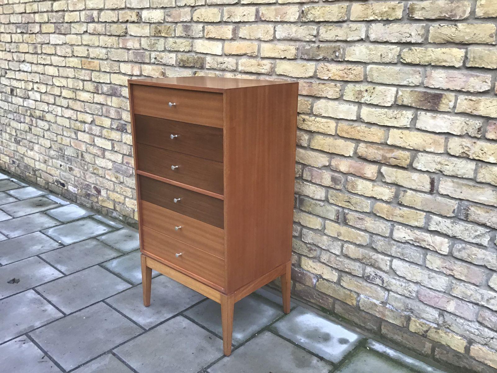 mid century kommode von gunther hoffstead f r uniflex bei. Black Bedroom Furniture Sets. Home Design Ideas