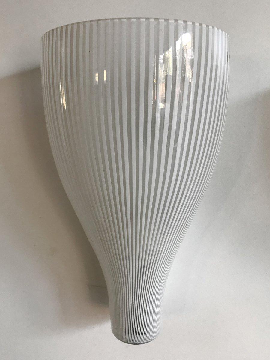 Wandlampen von Massimo Vigneli für Venini, 1950er, 2er Set