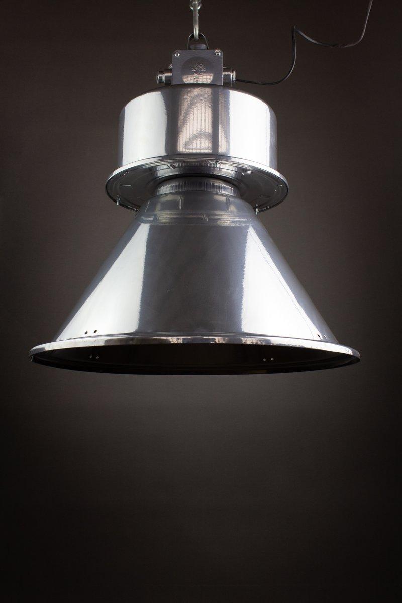 Industrielle ´ORPE250 E-1´ Leuchte aus Chrom von Indulamps für Predom ...