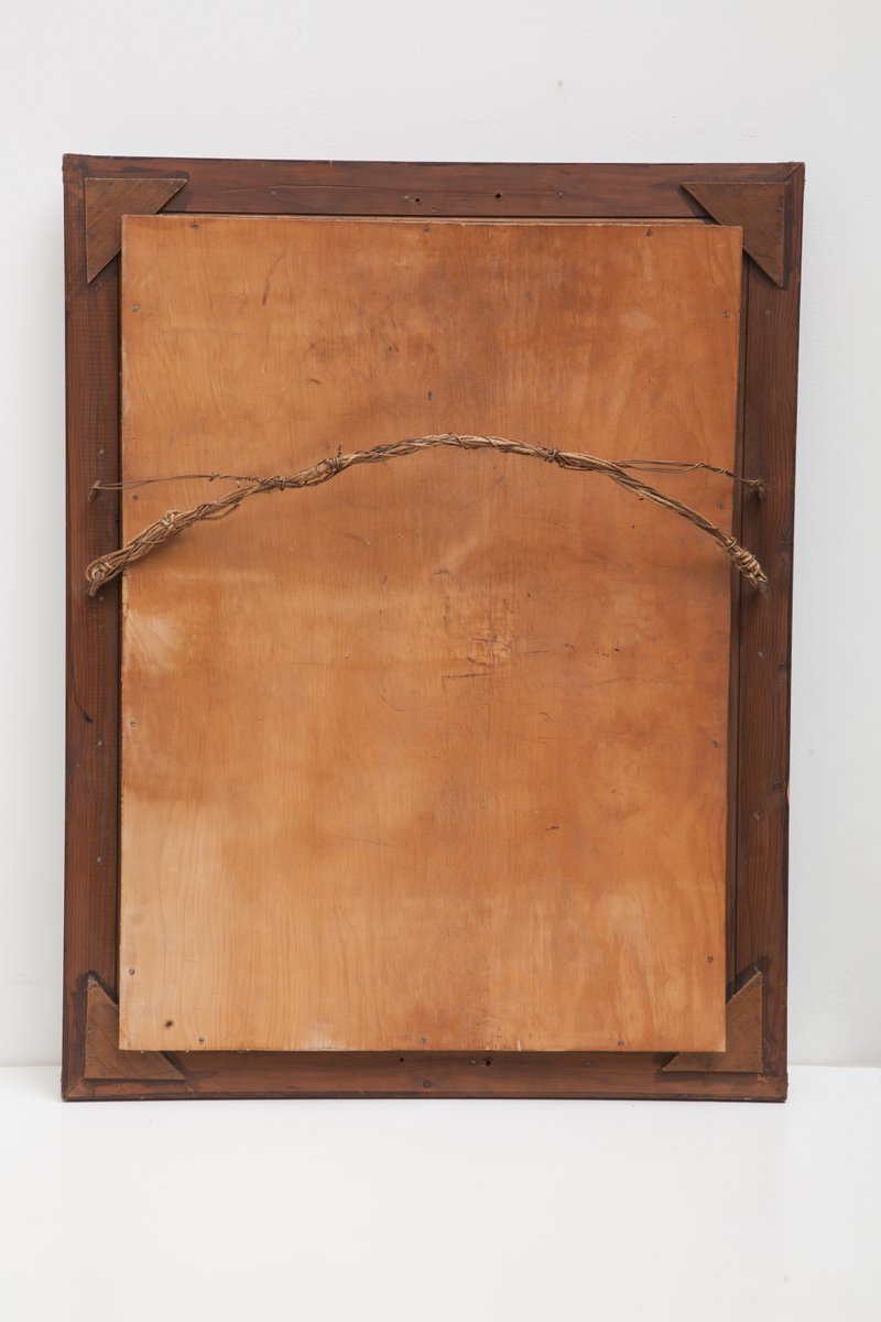 doppelbandiger rechteckiger art deco spiegel 1929 bei. Black Bedroom Furniture Sets. Home Design Ideas