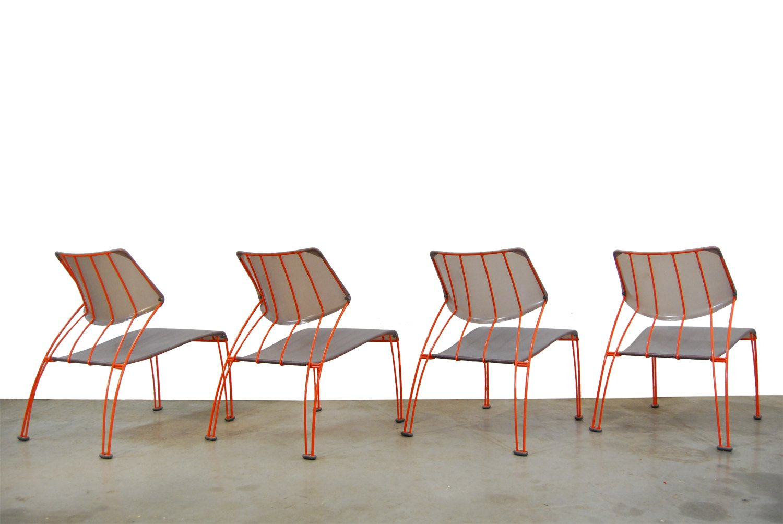 Hasslo Stühle von Monika Mulder für Ikea 1990er 4er Set