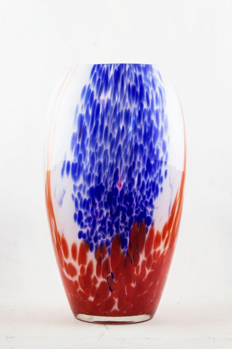 vase double couche art d co en verre par henri van heemskerk de scailmont en vente sur pamono. Black Bedroom Furniture Sets. Home Design Ideas