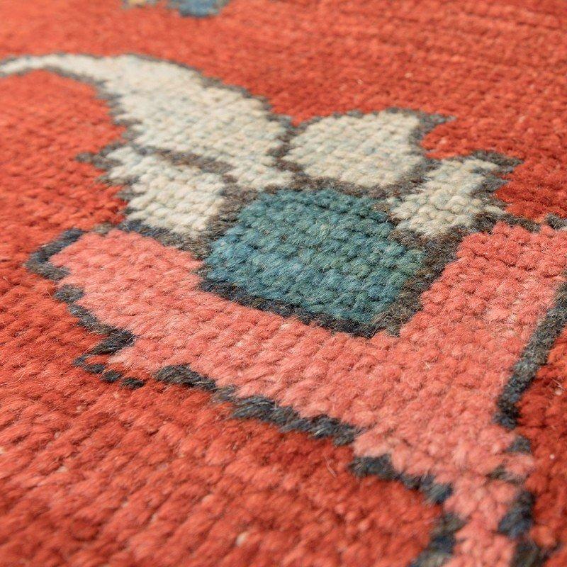 teppich in rot blau gr n gelb von ziegler 19 jh bei pamono kaufen. Black Bedroom Furniture Sets. Home Design Ideas