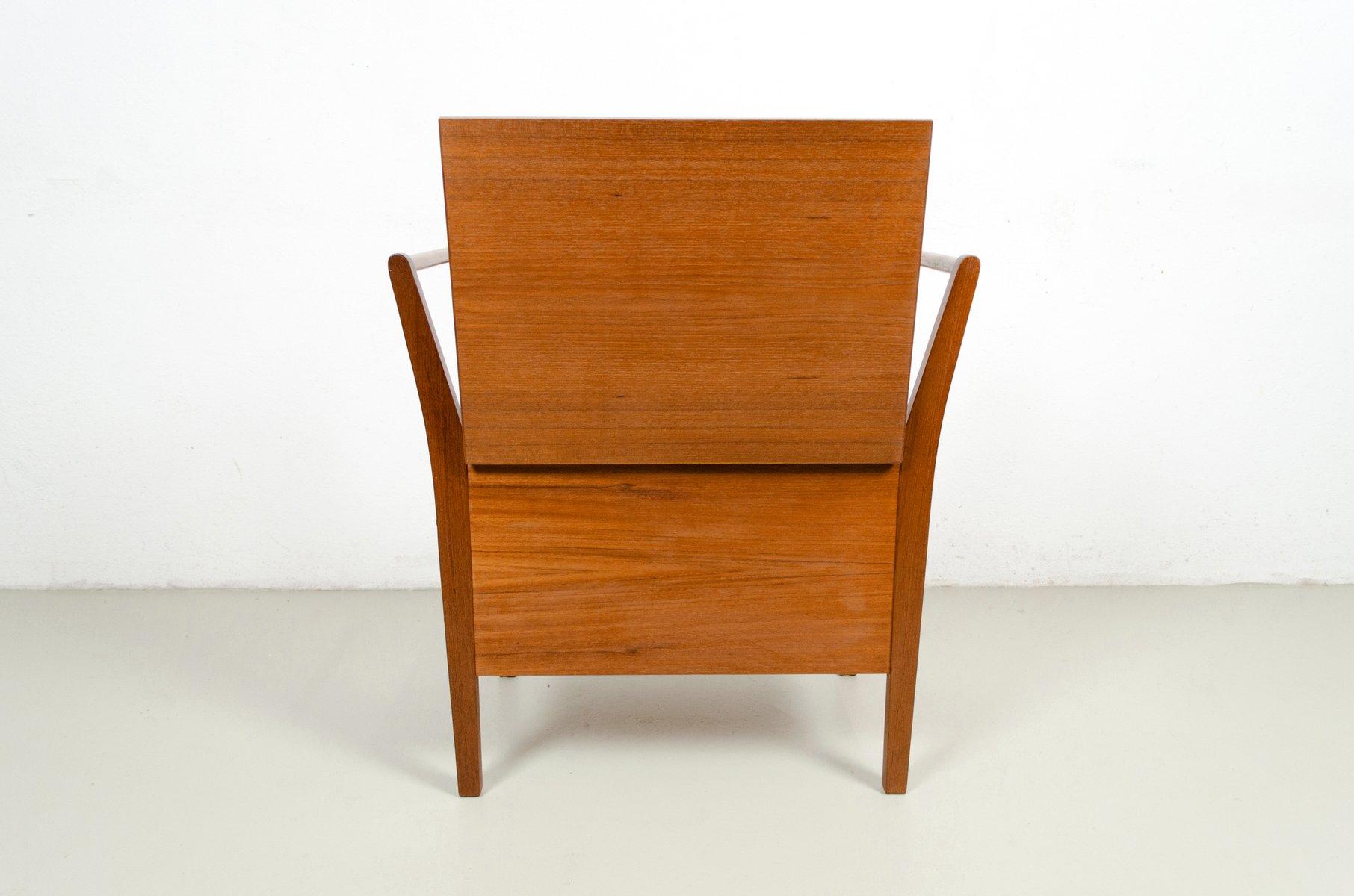 table de couture ou table de rangement mid century en. Black Bedroom Furniture Sets. Home Design Ideas
