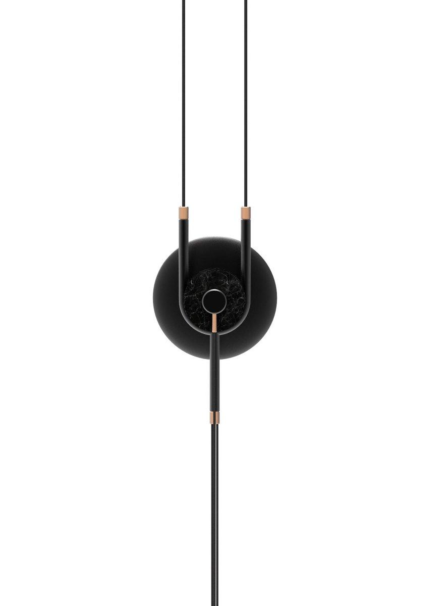 Y Lampe von Marc Dibeh für Bazar Noir