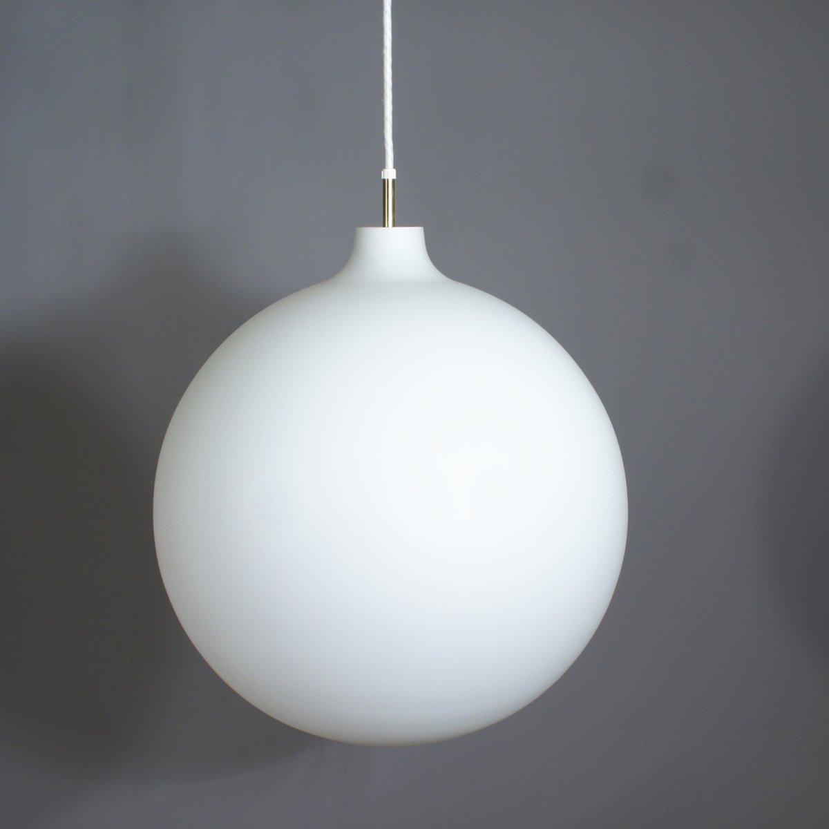 Vintage Satellit Hängelampe aus Milchglas von Vilhelm Wohlert für Loui...