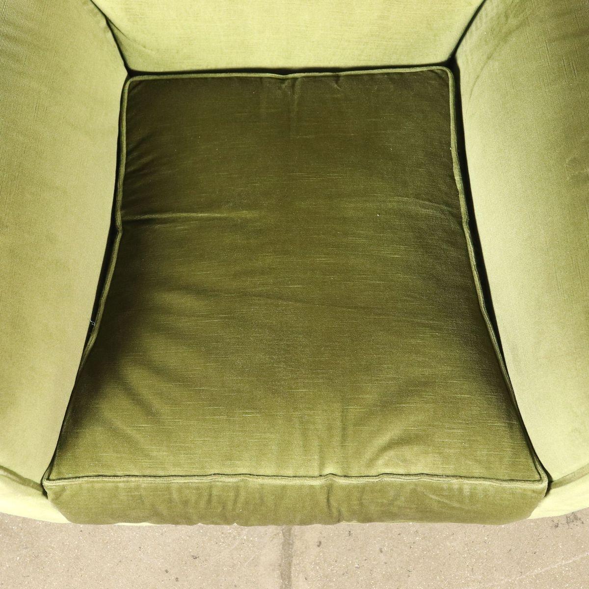Gefederte Italienische Vintage Sessel 1960er 2er Set Bei