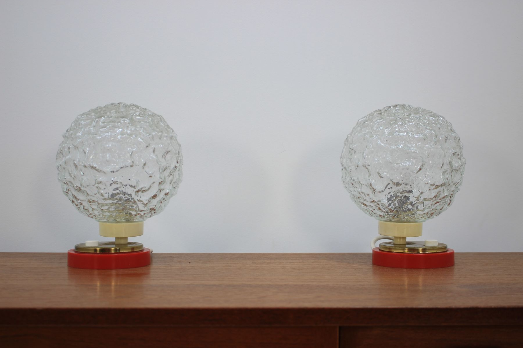 mid century tischlampen von richard essig 1970er 2er set bei pamono kaufen. Black Bedroom Furniture Sets. Home Design Ideas