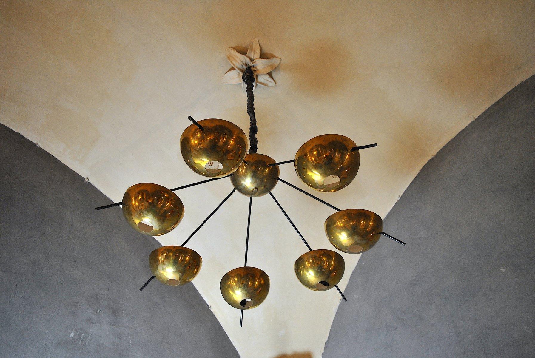 Kronleuchter aus Messing von Cellule Creative Studio für Misa Arte