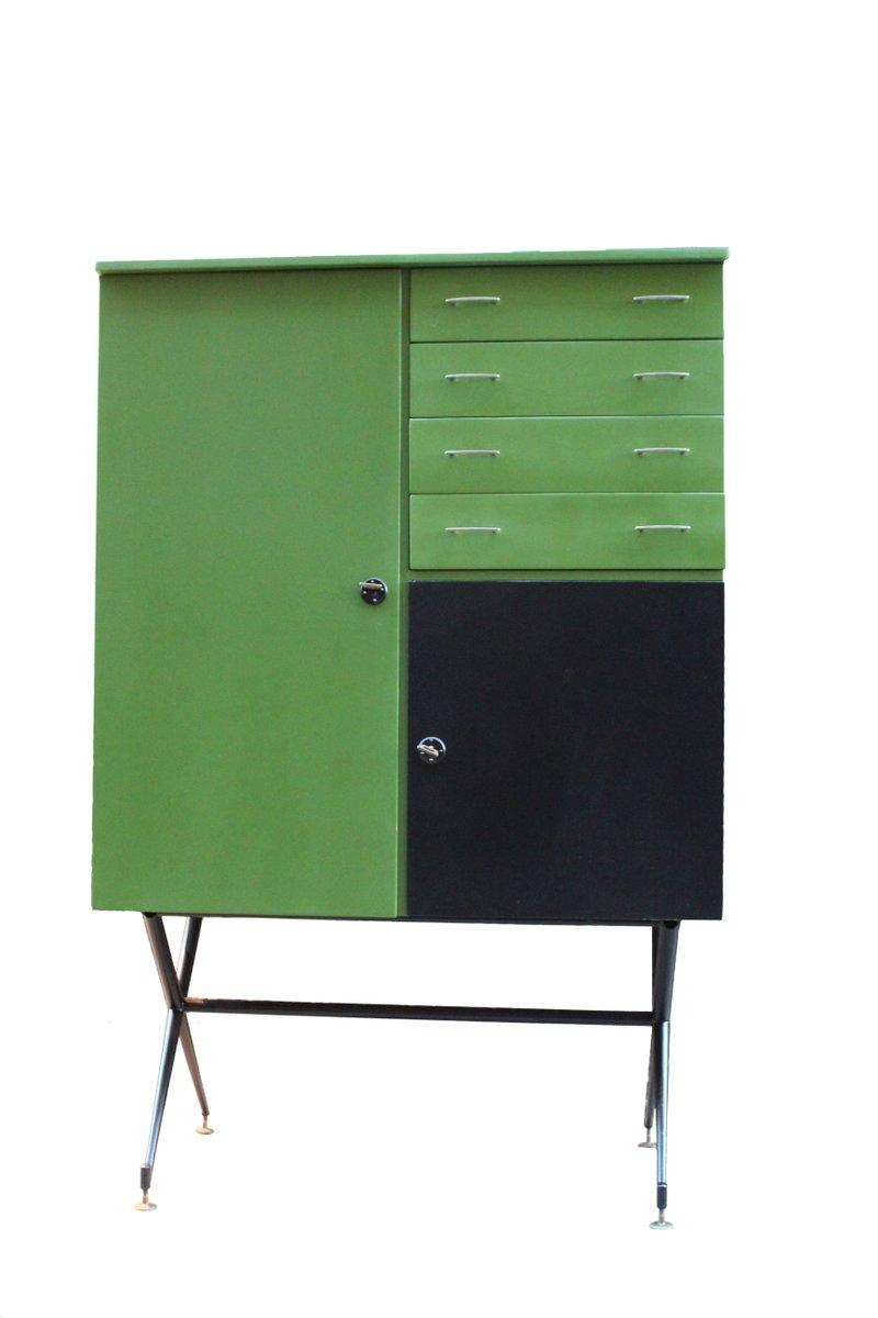 Grüner Schrank, 1960er