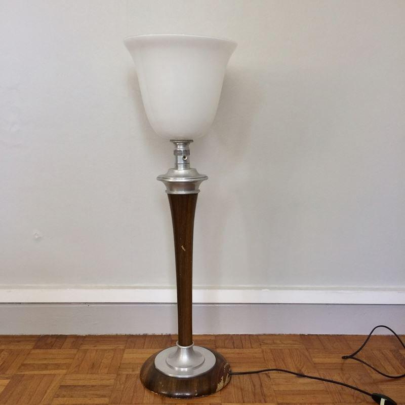 lampe de bureau art d co vintage de mazda 1950s en vente sur pamono. Black Bedroom Furniture Sets. Home Design Ideas