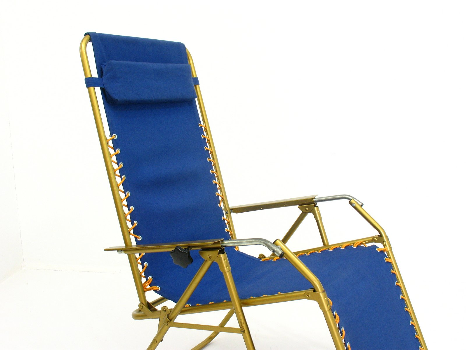 chaise longue ajustable de lafuma france 1970s en vente. Black Bedroom Furniture Sets. Home Design Ideas