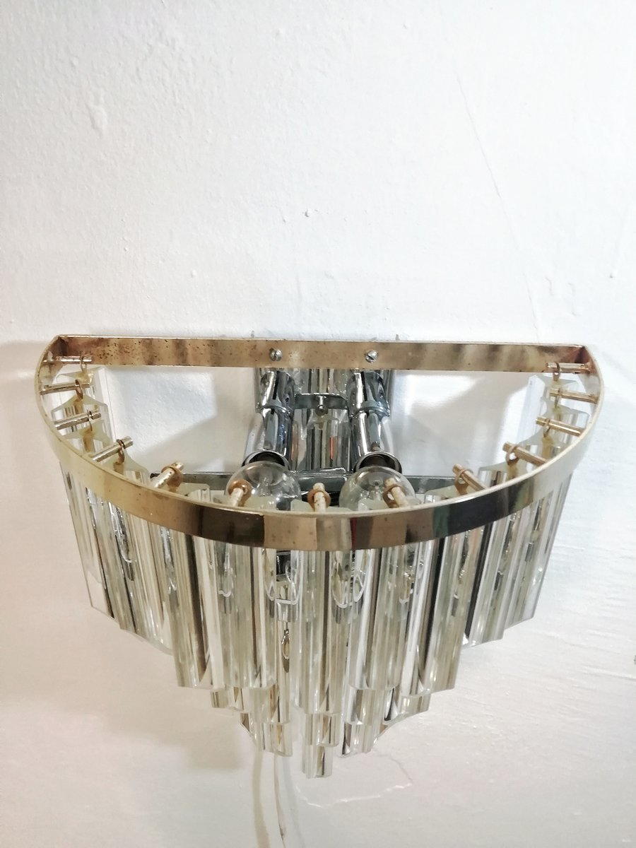 Wandlampe aus Muranoglas von Paolo Venini, 1960er