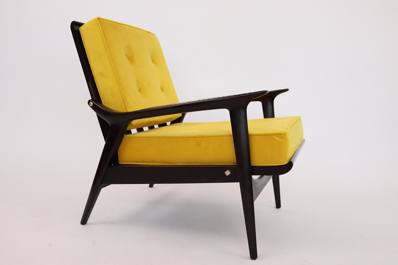 italian recliner armchair 1950s