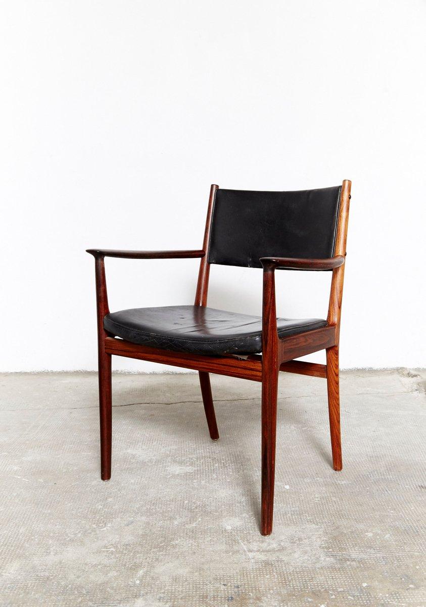 chaise d 39 appoint mid century par kai lyngfeldt larsen pour s ren willadsen 1960s en vente sur. Black Bedroom Furniture Sets. Home Design Ideas