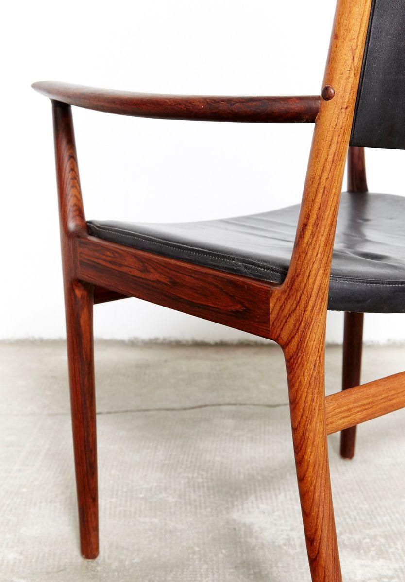 chaise d 39 appoint mid century par kai lyngfeldt larsen pour. Black Bedroom Furniture Sets. Home Design Ideas