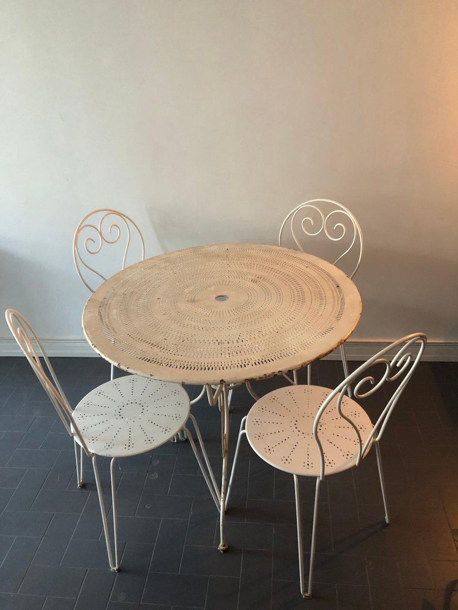meubles de jardin vintage en fer forg en vente sur pamono. Black Bedroom Furniture Sets. Home Design Ideas