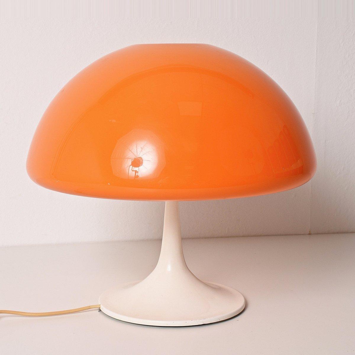Mushroom Tischlampen von Luigi Massoni für Guzzini, 1960er, 2er Set