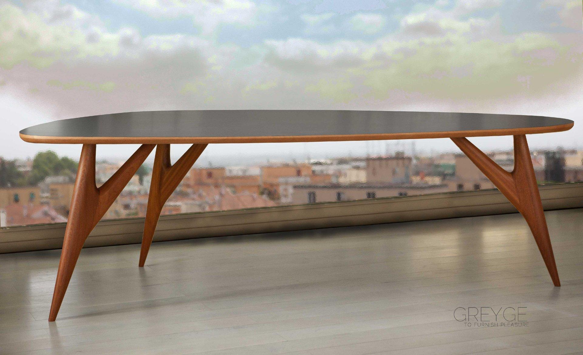 Tavolo da pranzo grande Ted One di Kathrin Charlotte Bohr ...