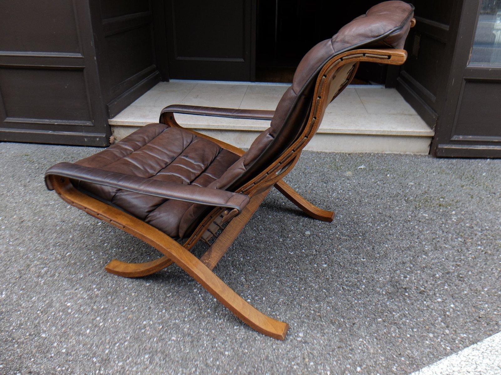 flex sessel mit hoher r ckenlehne von ingmar relling f r. Black Bedroom Furniture Sets. Home Design Ideas
