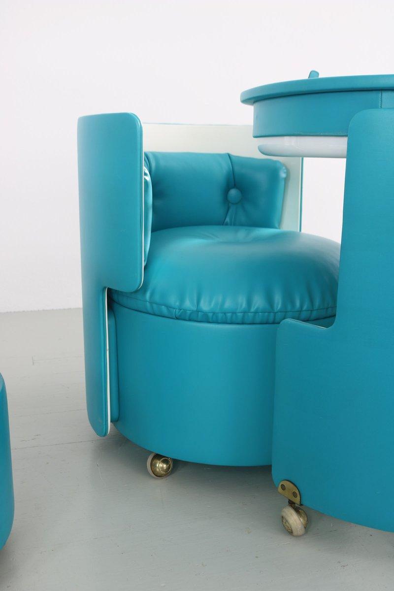 dilly dally schminktisch und stuhl von luigi massoni f r. Black Bedroom Furniture Sets. Home Design Ideas